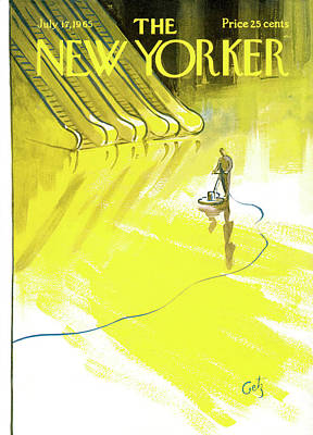 New Yorker July 17th, 1965 Art Print by Arthur Getz
