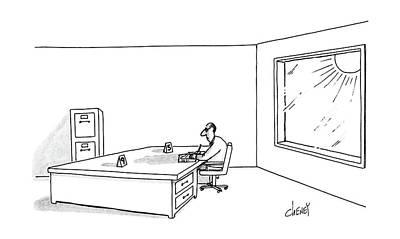 New Yorker July 18th, 1988 Art Print by Tom Cheney