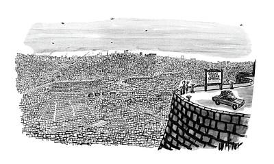 1969 Drawing - New Yorker July 19th, 1969 by Warren Miller