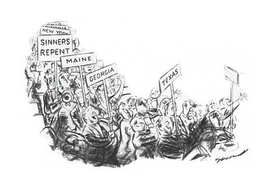 New Yorker July 20th, 1940 Art Print by Leonard Dove