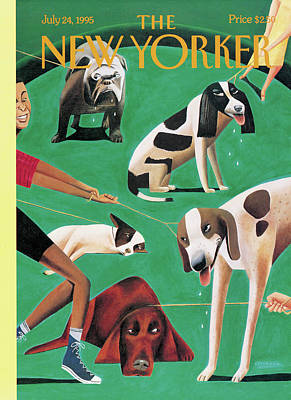 New Yorker July 24th, 1995 Art Print by Mark Ulriksen