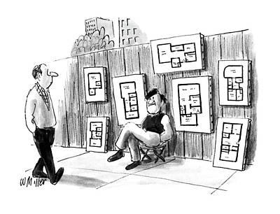 New Yorker July 25th, 1988 Art Print by Warren Miller