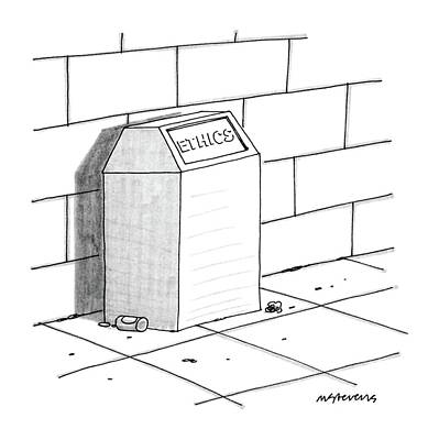 New Yorker July 27th, 1987 Art Print by Mick Stevens