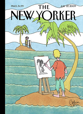 Stranded Wall Art - Painting - New Yorker July 27th, 2009 by Gahan Wilson