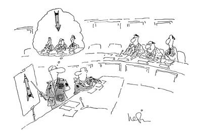 U.s.a Drawing - New Yorker July 2nd, 1979 by Arnie Levin
