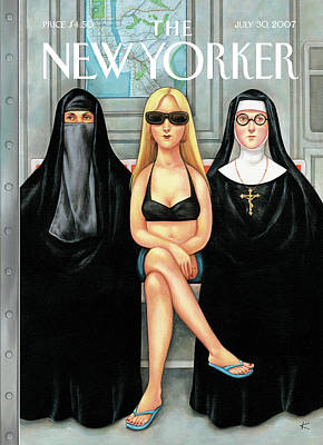 New Yorker July 30th, 2007 Art Print