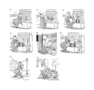New Yorker July 3rd, 1943 Art Print