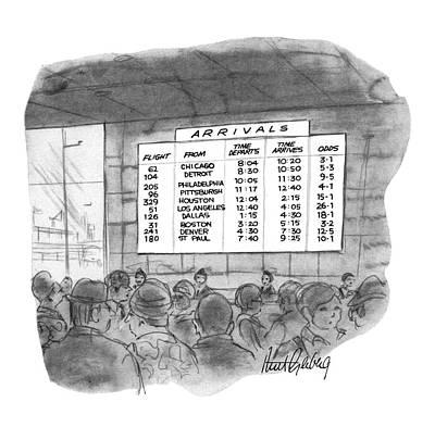 New Yorker July 4th, 1970 Art Print