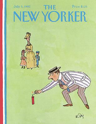 New Yorker July 5th, 1982 Art Print