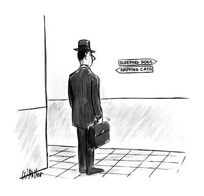 New Yorker July 6th, 1987 Art Print by Warren Miller