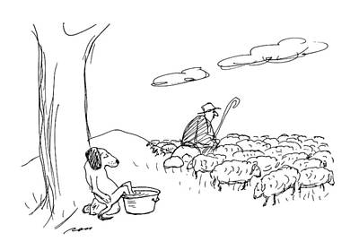 Rural Scenes Drawing - New Yorker July 6th, 1992 by Al Ross