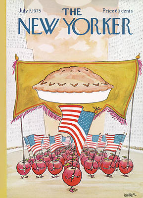 July 4 Painting - New Yorker July 7th, 1975 by Robert Weber