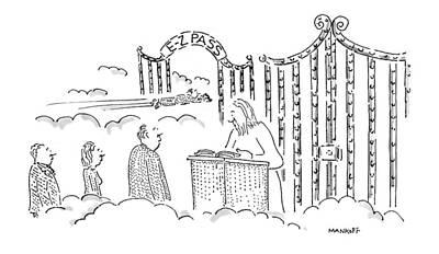 New Yorker July 7th, 1997 Art Print