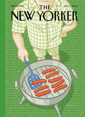 Painting - New Yorker July 7th, 2003 by Christoph Niemann