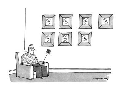 Sit-ins Drawing - New Yorker July 8th, 1991 by Mick Stevens