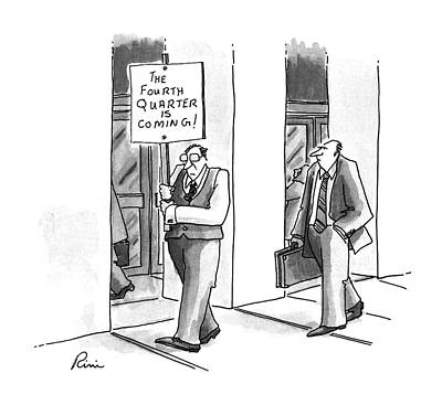 1996 Drawing - New Yorker July 8th, 1996 by J.P. Rini