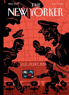 Forever Painting - New Yorker July 9th, 2001 by Christoph Niemann