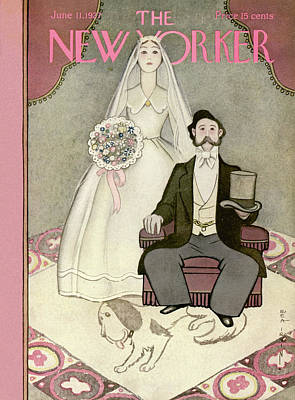 Painting - New Yorker June 11th, 1927 by Rea Irvin