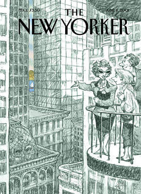 Peter-de-seve Painting - New Yorker June 11th, 2001 by Peter de Seve