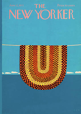 1971 Painting - New Yorker June 12th, 1971 by Charles E. Martin