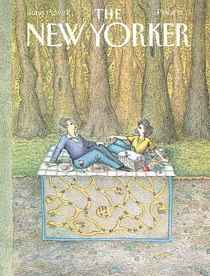 Ant Painting - New Yorker June 15th, 1992 by John O'Brien