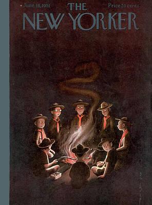 New Yorker June 16th, 1951 Art Print