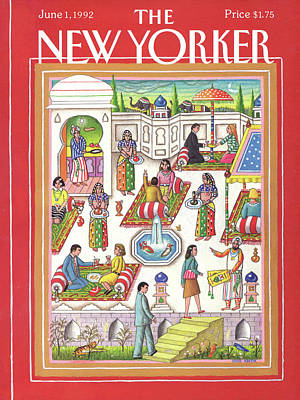 New Yorker June 1st, 1992 Art Print by Bob Knox