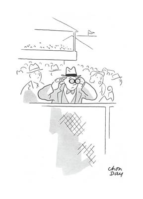 Fast Drawing - New Yorker June 20th, 1942 by Chon Day