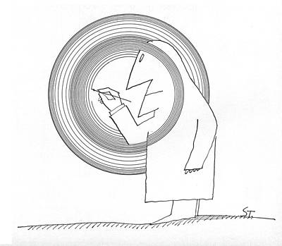 New Yorker June 20th, 1964 Art Print by Saul Steinberg