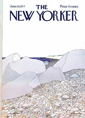 Simpson Painting - New Yorker June 20th, 1977 by Gretchen Dow Simpson
