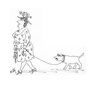 1969 Drawing - New Yorker June 21st, 1969 by William Steig