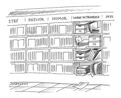 Book Title Drawing - New Yorker June 21st, 1999 by Mick Stevens