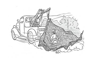 Truck Drawing - New Yorker June 22nd, 1940 by George Price