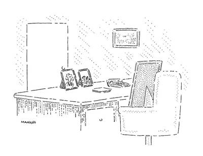 Sit-ins Drawing - New Yorker June 22nd, 1992 by Robert Mankoff