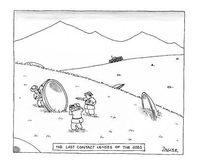 New Yorker June 23rd, 1997 Art Print by Jack Ziegler