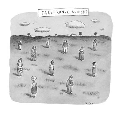Free Drawing - New Yorker June 23rd, 1997 by Roz Chast