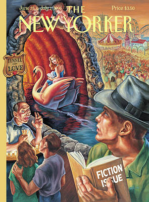 Amusement Parks Painting - New Yorker June 24th, 1996 by Owen Smith