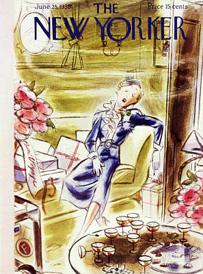 New Yorker June 25 1938 Art Print