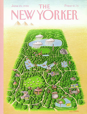 New Yorker June 25th, 1990 Art Print