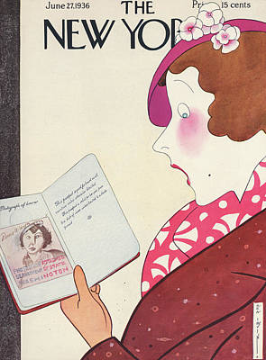 Fashion Painting - New Yorker June 27th, 1936 by Rea Irvin
