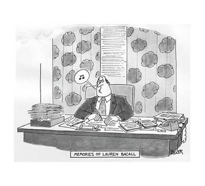 New Yorker June 27th, 1977 Art Print by Jack Ziegler