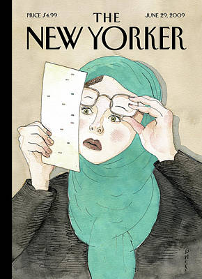 Iran Painting - New Yorker June 29th, 2009 by Barry Blitt