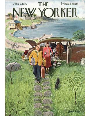 New Yorker June 3rd, 1950 Art Print