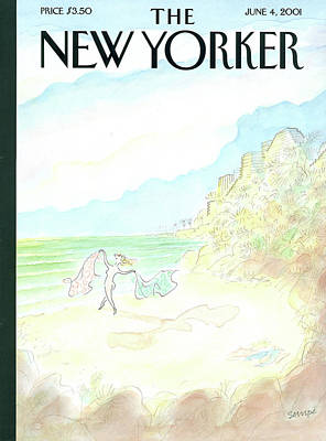 Jean Jacques Sempe Painting - New Yorker June 4th, 2001 by Jean-Jacques Sempe