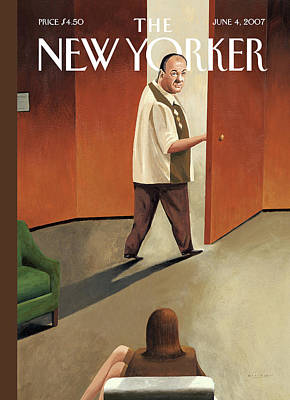Hbo Painting - New Yorker June 4th, 2007 by Mark Ulriksen