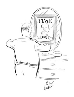 Time Magazine Drawing - New Yorker June 9th, 1962 by Richard Decker