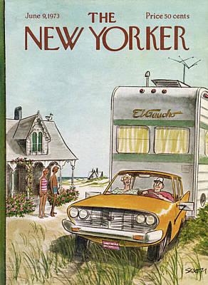 New Yorker June 9th, 1973 Art Print