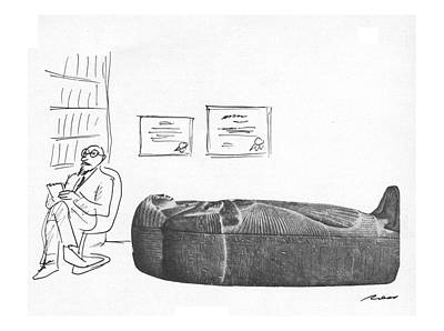 Psychiatry Drawing - New Yorker March 12th, 1979 by Al Ross