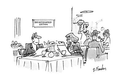 New Yorker March 14th, 1988 Art Print by Dana Fradon