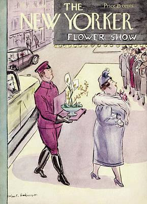 New Yorker March 16th, 1940 Art Print by Helen E. Hokinson